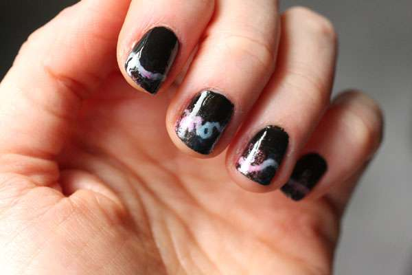 Airbrush-Inspired Manicures