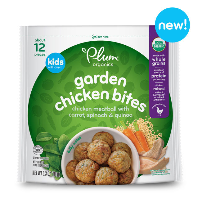 Frozen Organic Protein Snacks