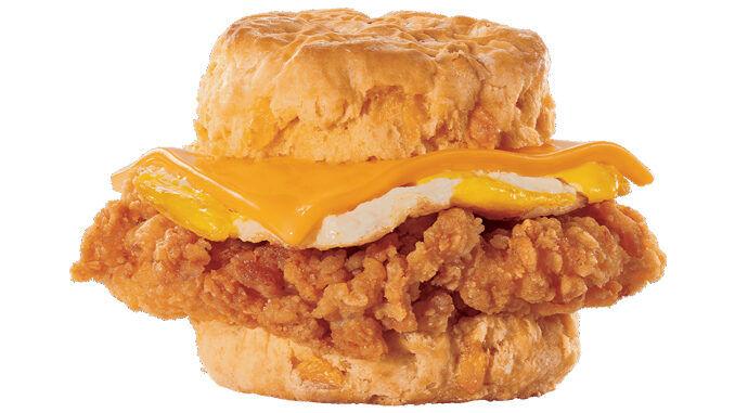 Crispy Chicken Breakfast Sandwiches