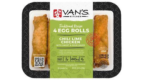 Prepackaged Egg Roll Snacks