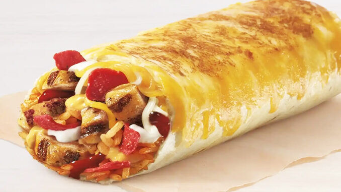 Saucy Grilled Cheese Burritos