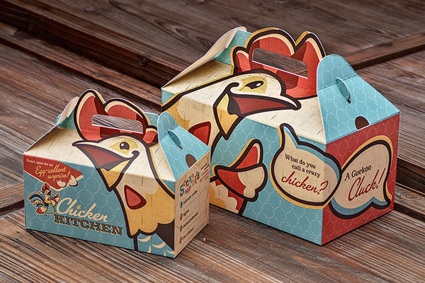 Poultry-Headed Packaging : Chicken Kitchen Packaging
