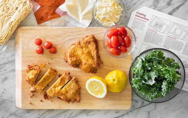 DIY Chicken Parmesan Kits
