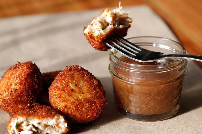 Savory Chicken Fritters