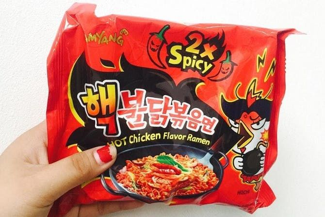 Ultra-Spicy Ramen Noodles