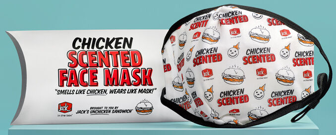 Fast Food-Scented Face Masks