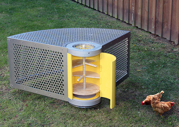 Lawn-Safe Chicken Shelters