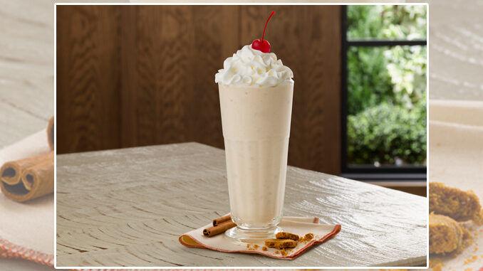 Autumnally Spiced QSR Milkshakes