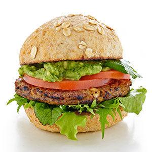 Meatless Mediterranean Burgers