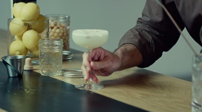 Vegan Chickpea Cocktails