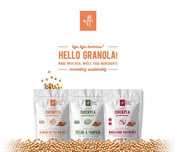 Legume-Based Granolas
