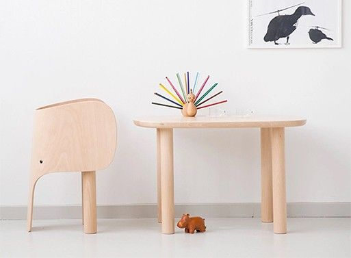 Elephant-Shaped Child Chairs