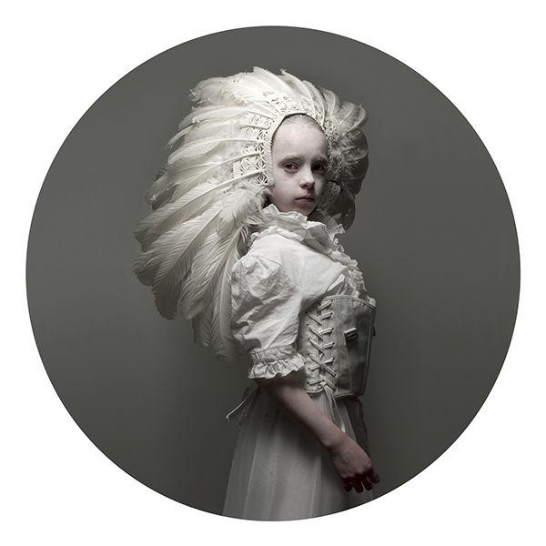 Surreal Victorian Kid Portraits