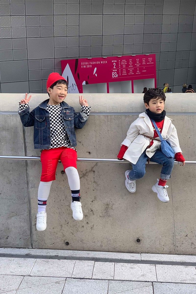 Child Streetwear Photography