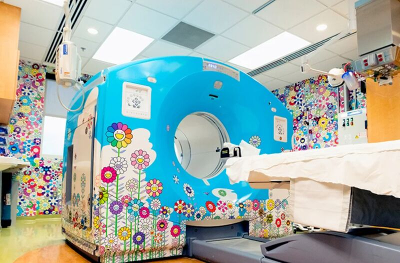 Artful CT Scan Suites