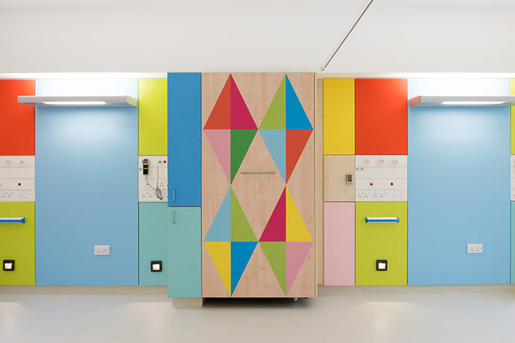 Artistically Patterned Children's Hospitals