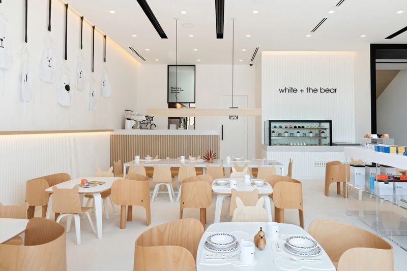 Minimalist Children-Specific Restaurants