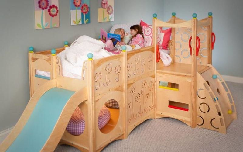 Customizable Jungle Gym Beds