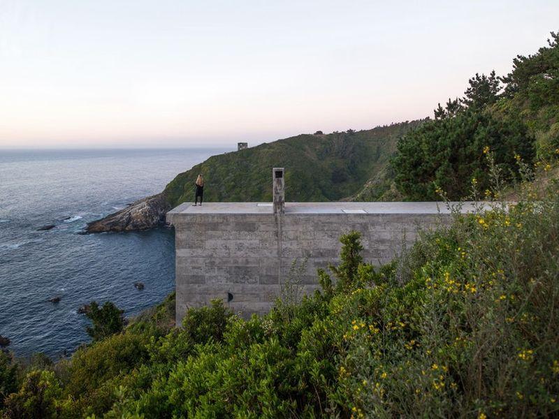 Cliffside Chilean Houses