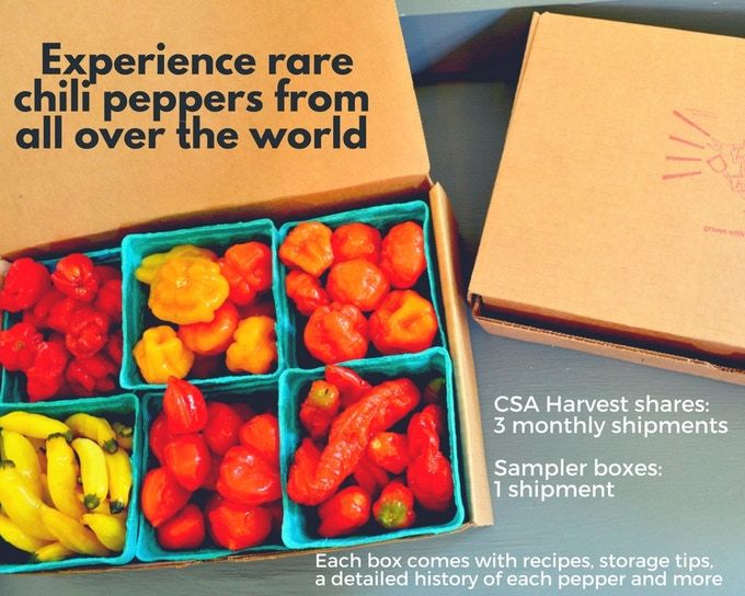 Chili Pepper Subscription Boxes
