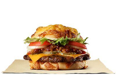 Ugly Cheese Bun Burgers