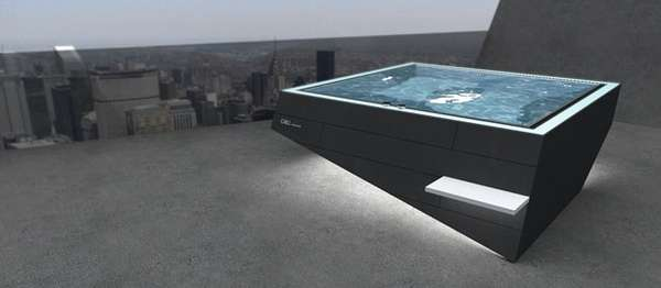 Fiercely Angular Hot Tubs