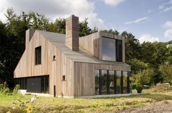 Contemporary Cabin Abodes