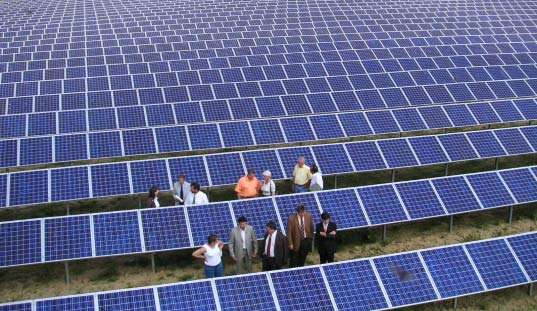 Super-Sized Solar Plants