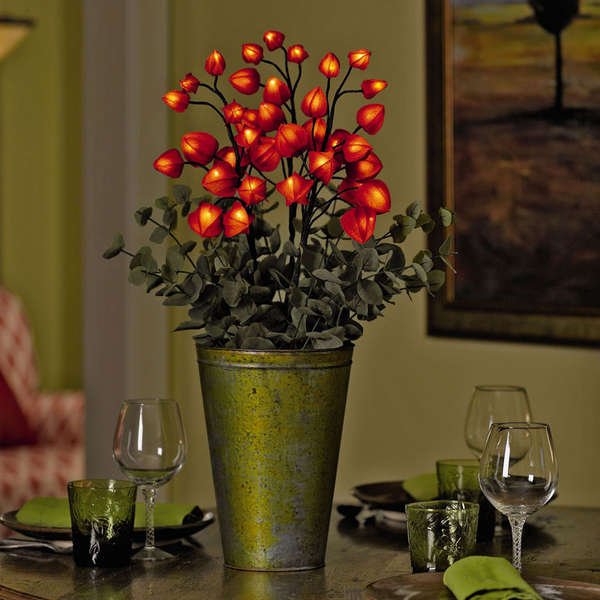 Blooming Bouquet Lamps Chinese Lantern Led Lights