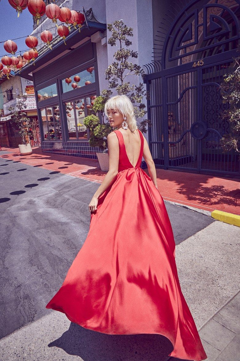Modern Red Wedding Dresses