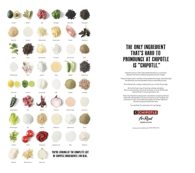 Clean Ingredient Campaigns