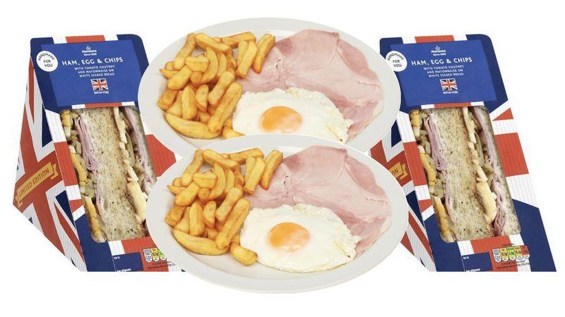 French Fry-Stuffed Sandwiches