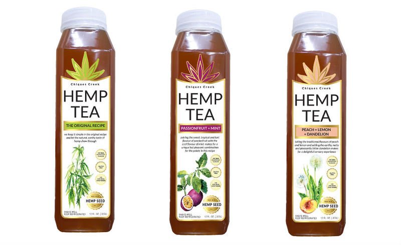CBD-Free Hemp Tea Drinks