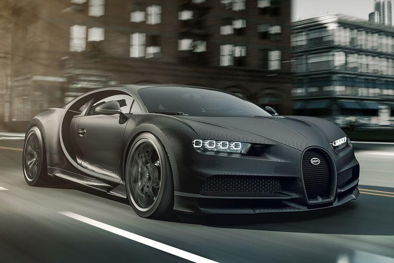 Limited-Edition Carbon Fiber Cars