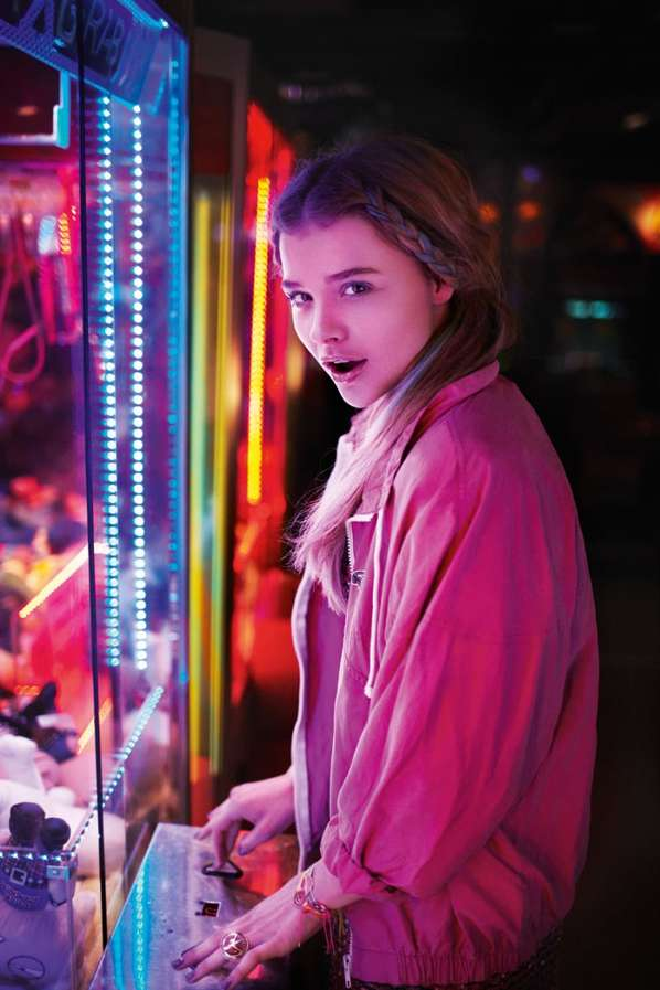 Colorful Teen Stock Image Image Of Lipstick Portrait: Colorful Teen Carnival Captures : Chloe Moretz ASOS