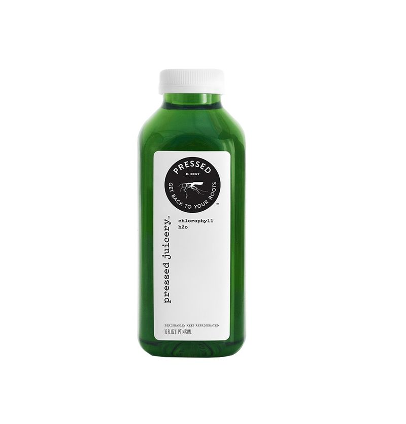 Chlorophyll-Infused Juices