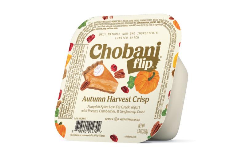 Decadent Autumnal Yogurts
