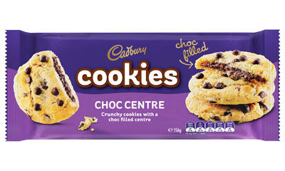 Crunchy Chocolate-Filled Cookies