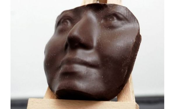 3D-Printed Chocolate Portraits