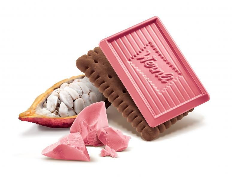 Naturally Pink Chocolate Biscuits