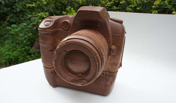 Edible Chocolate Cameras