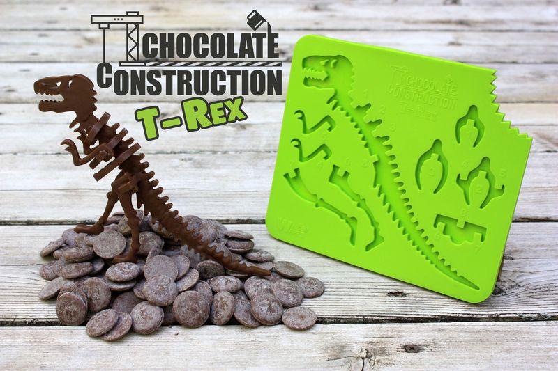 Chocolate Tyrannosaurus Rexes