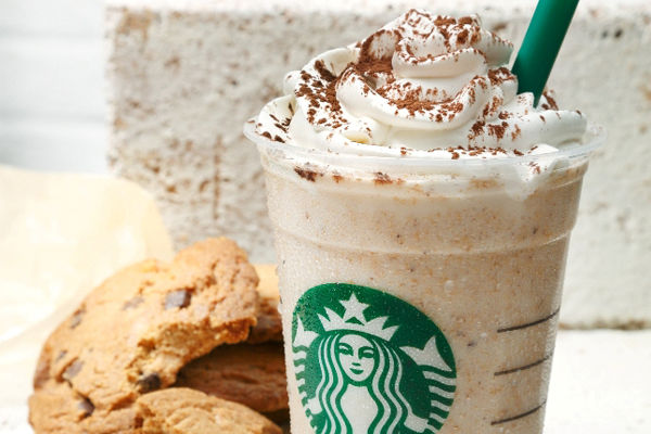 Caffeinated Cookie Drinks