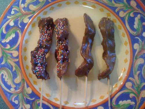 Sugary Bacon Treats