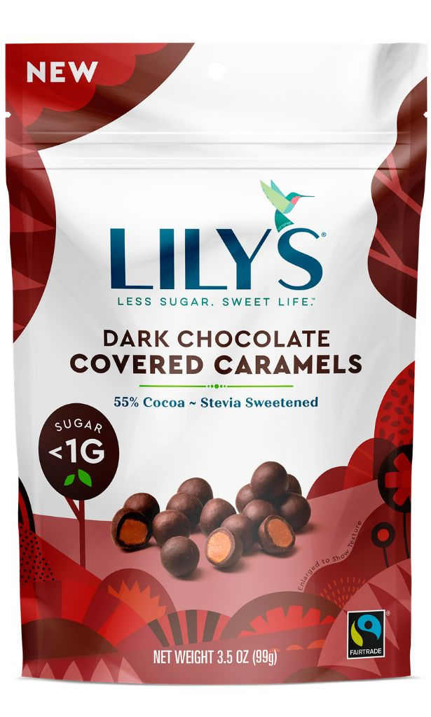 Low-Sugar Chocolate Caramels