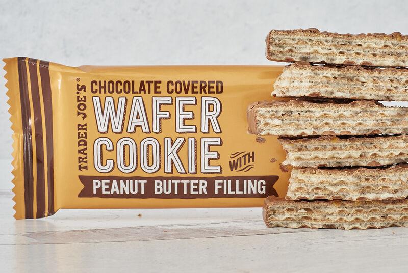 Peanut Butter-Tilled Wafers
