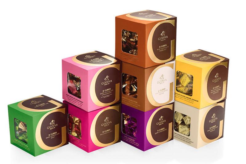 Decadent Cubed Chocolates