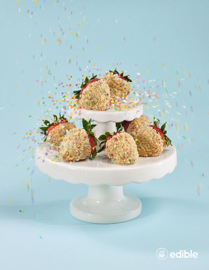 Sprinkle-Covered Birthday Berries