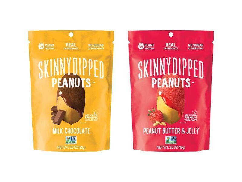 Chocolate-Dipped Peanut Snacks