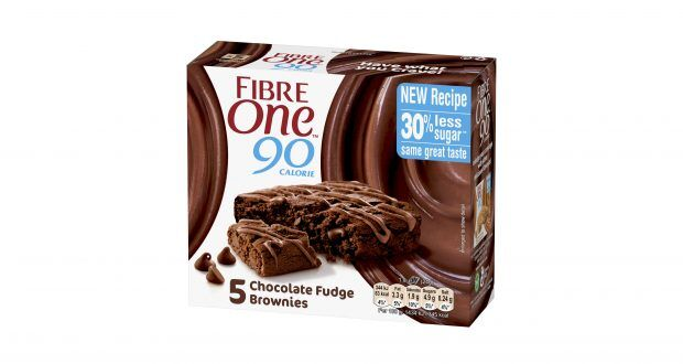Reduced-Sugar Snack Brownies